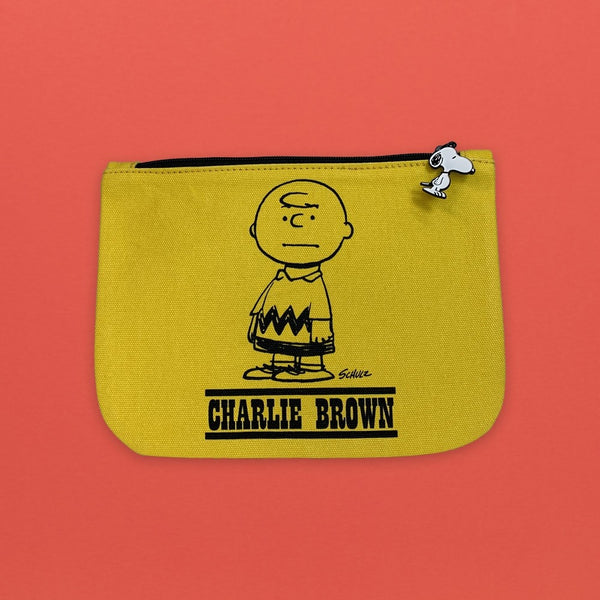 Snoopy Pouch Charlie Brown