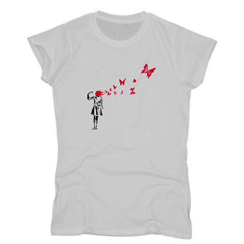 Butterfly Girl Women's T-shirt