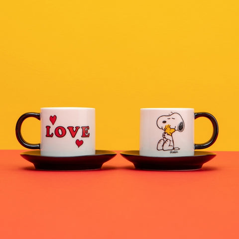 SNOOPY LOVE ESPRESSO SET