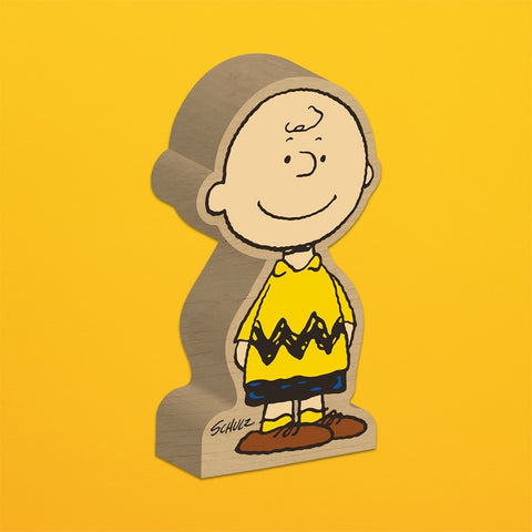 SNOOPY-CHARLIE BROWN BLOCK FIGURE