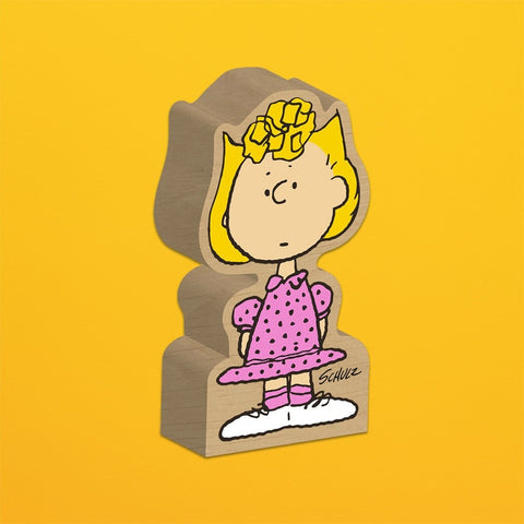 SNOOPY-SALLY BROWN BLOCK FIGURE