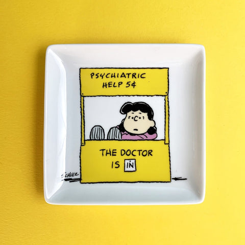 SNOOPY HELP TRINKET TRAY