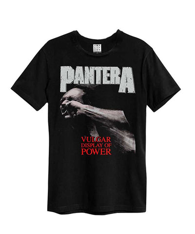 Pantera Vulgar Display Of Power Amplified T-shirt