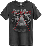 Mens' Pink Floyd T-shirt - Pyramid Faces, Charcoal
