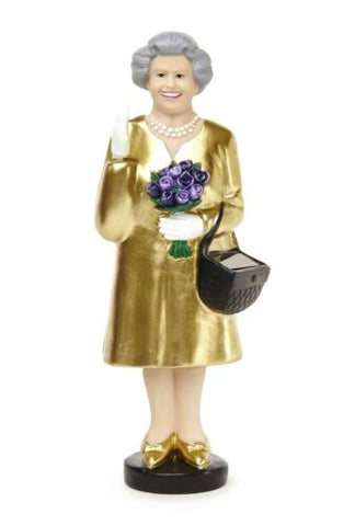 SOLAR QUEEN GOLD DRESS WAVING FIGURE