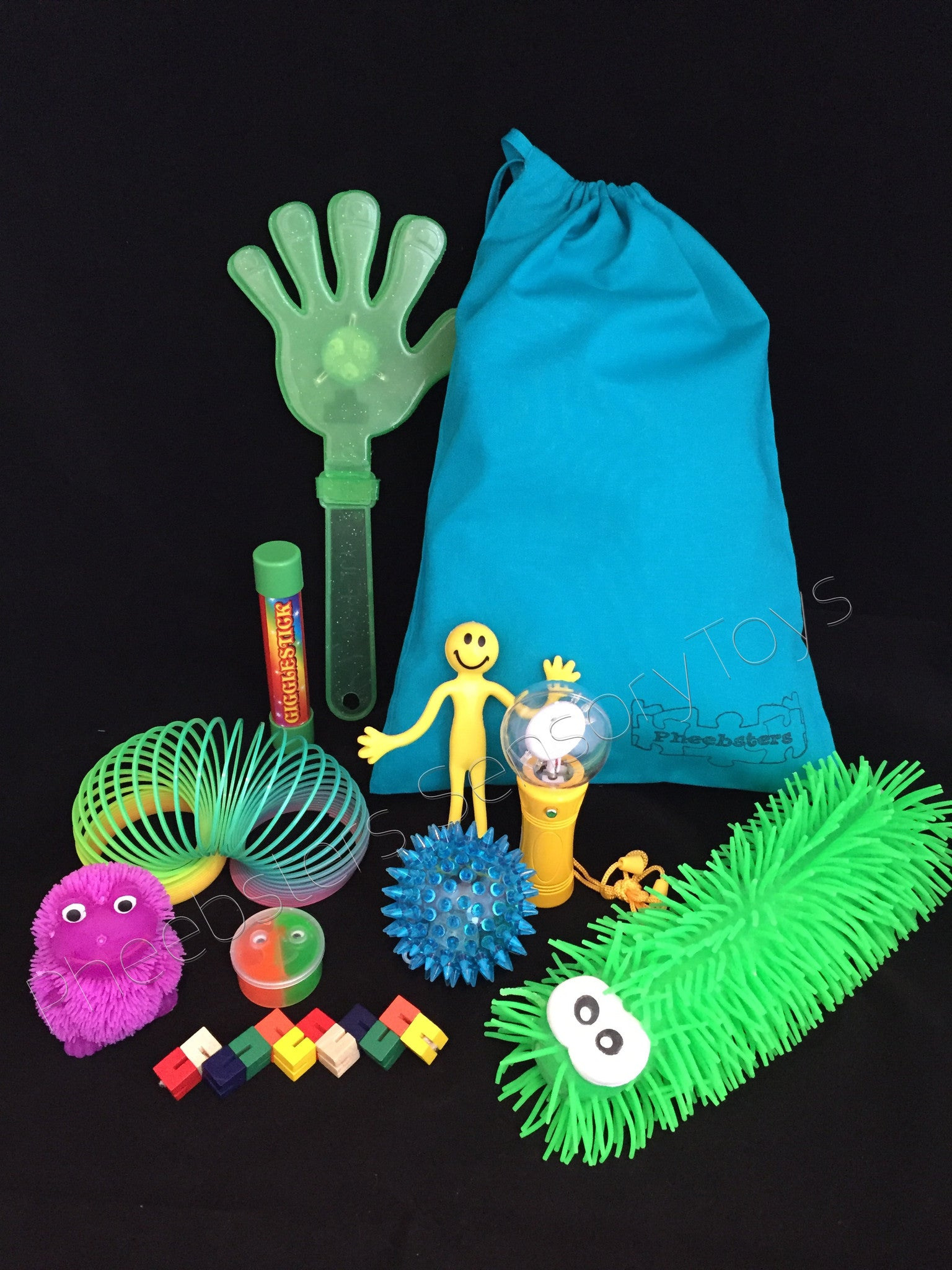 SENSORY TOY BAG Fid toys fiddle kit autism ADHD