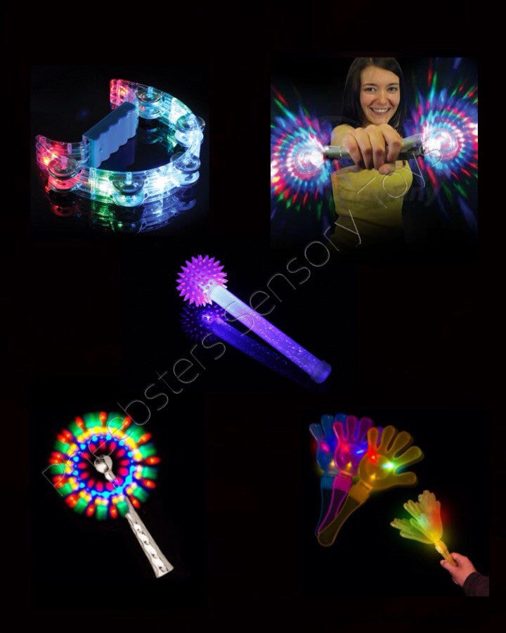 LIGHT UP TOY SET 4