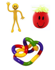 POCKET STRESS RELIEF KIT - Pheebsters Sensory Toys - Autism Toys, Special Needs Chews & Fidget Toys - ASD ADHD TOYS UK