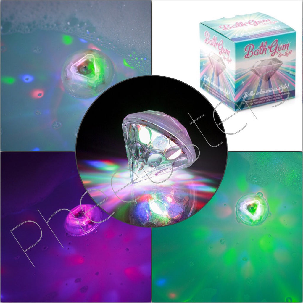 BATH GEM - Sensory bath light float