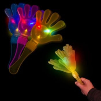 FLASHING LIGHT UP HAND CLAPPER - Pheebsters Sensory Toys - Autism Toys, Special Needs Chews & Fidget Toys - ASD ADHD TOYS UK