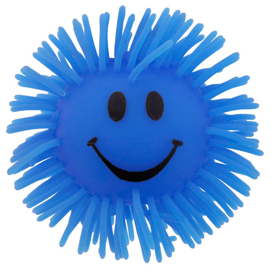 SMILEY FACE LIGHT UP PUFFER BALL