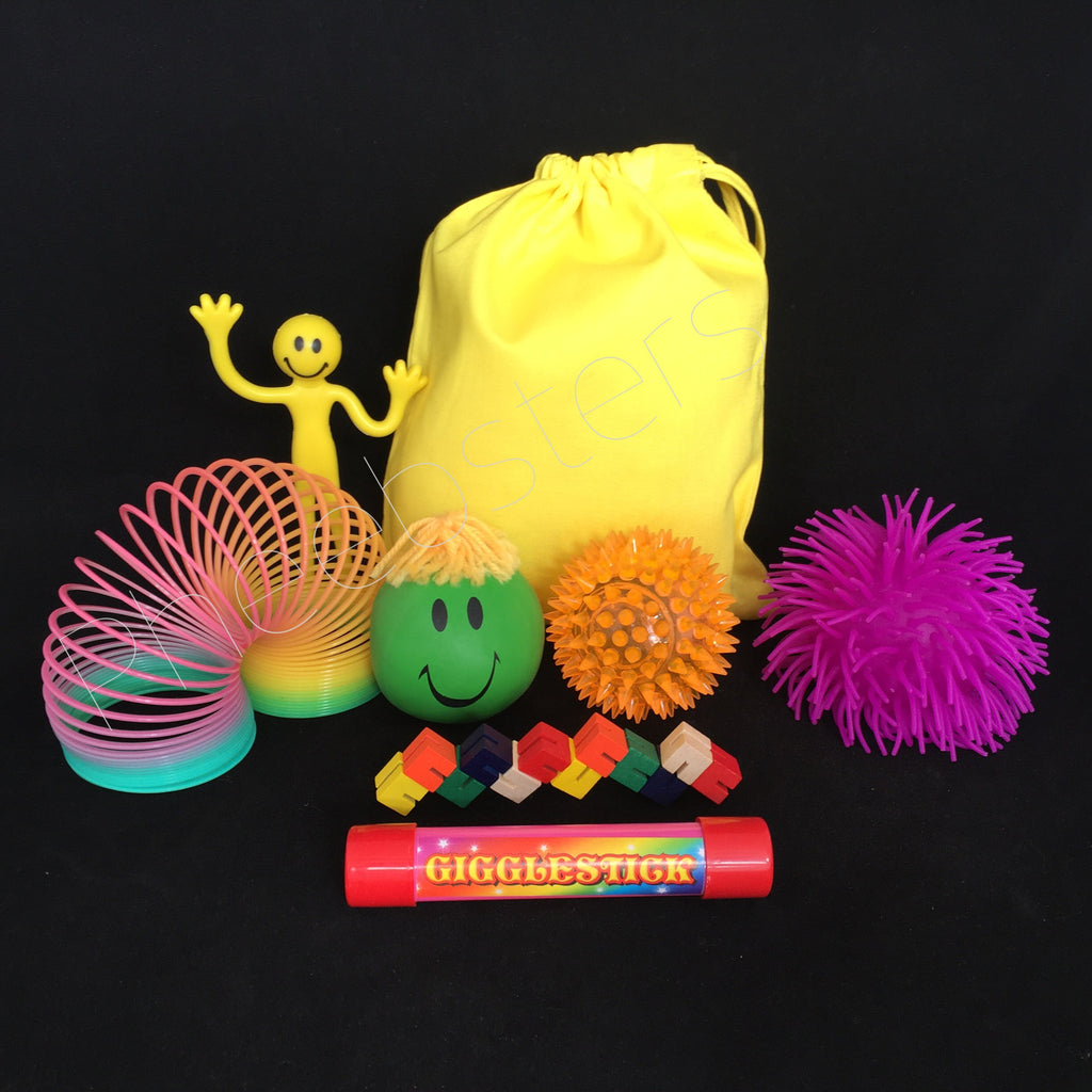 SENSORY TOY TRAVEL BAG - ( Fidget kit 2 )
