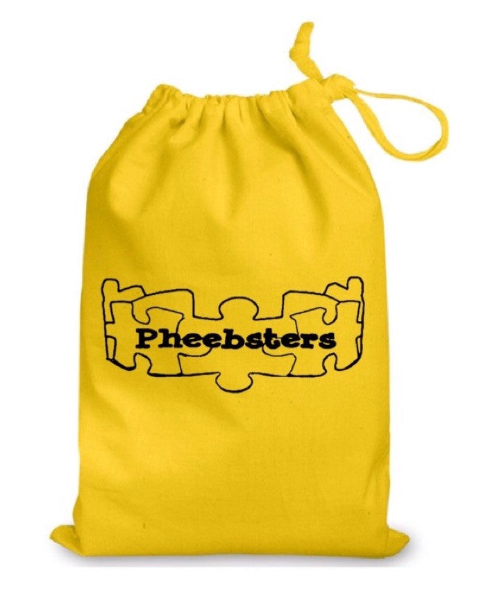 DRAWSTRING BAG -Large - Pheebsters Sensory Toys - Autism Toys, Special Needs Chews & Fidget Toys - ASD ADHD TOYS UK