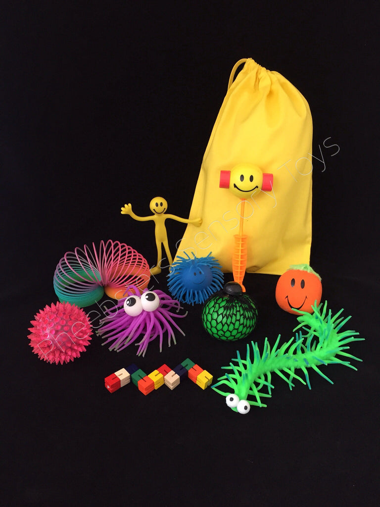 SENSORY TOY BAG - (Fidget kit 6)