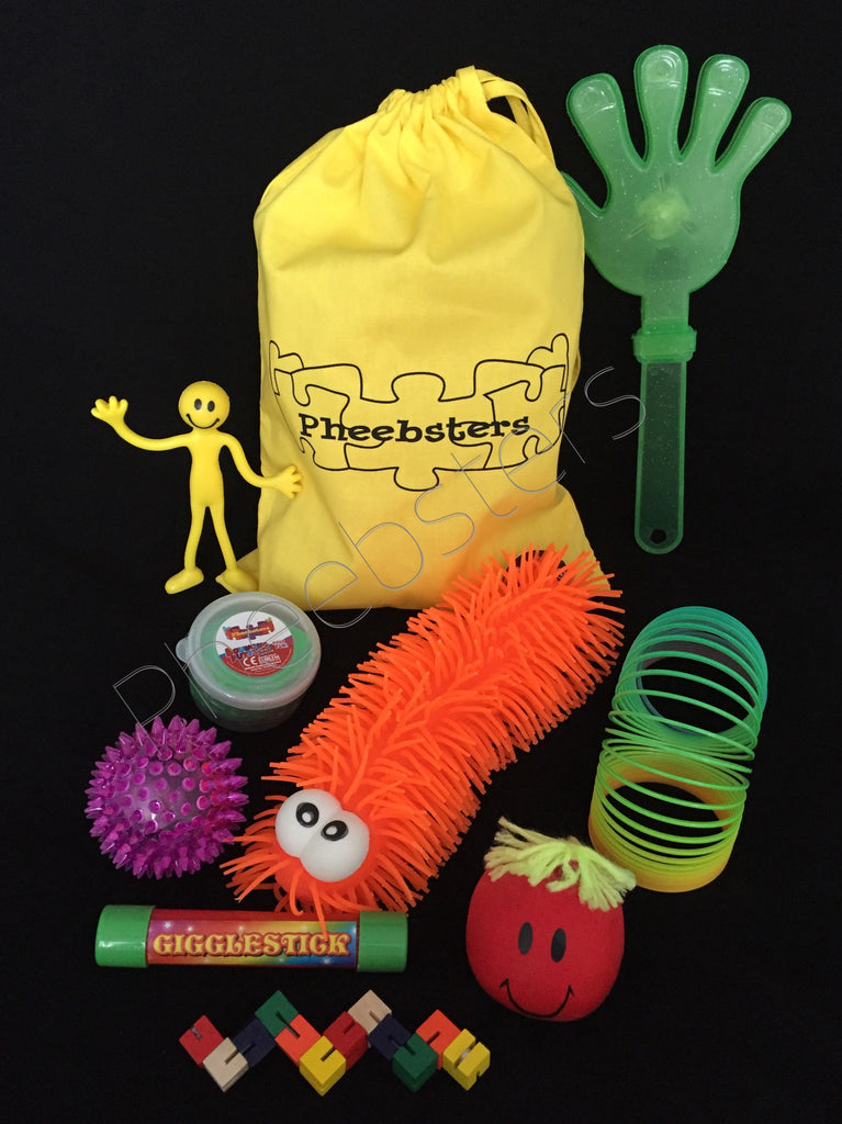 LARGE SENSORY TOY BAG - (Fidget kit 7 )