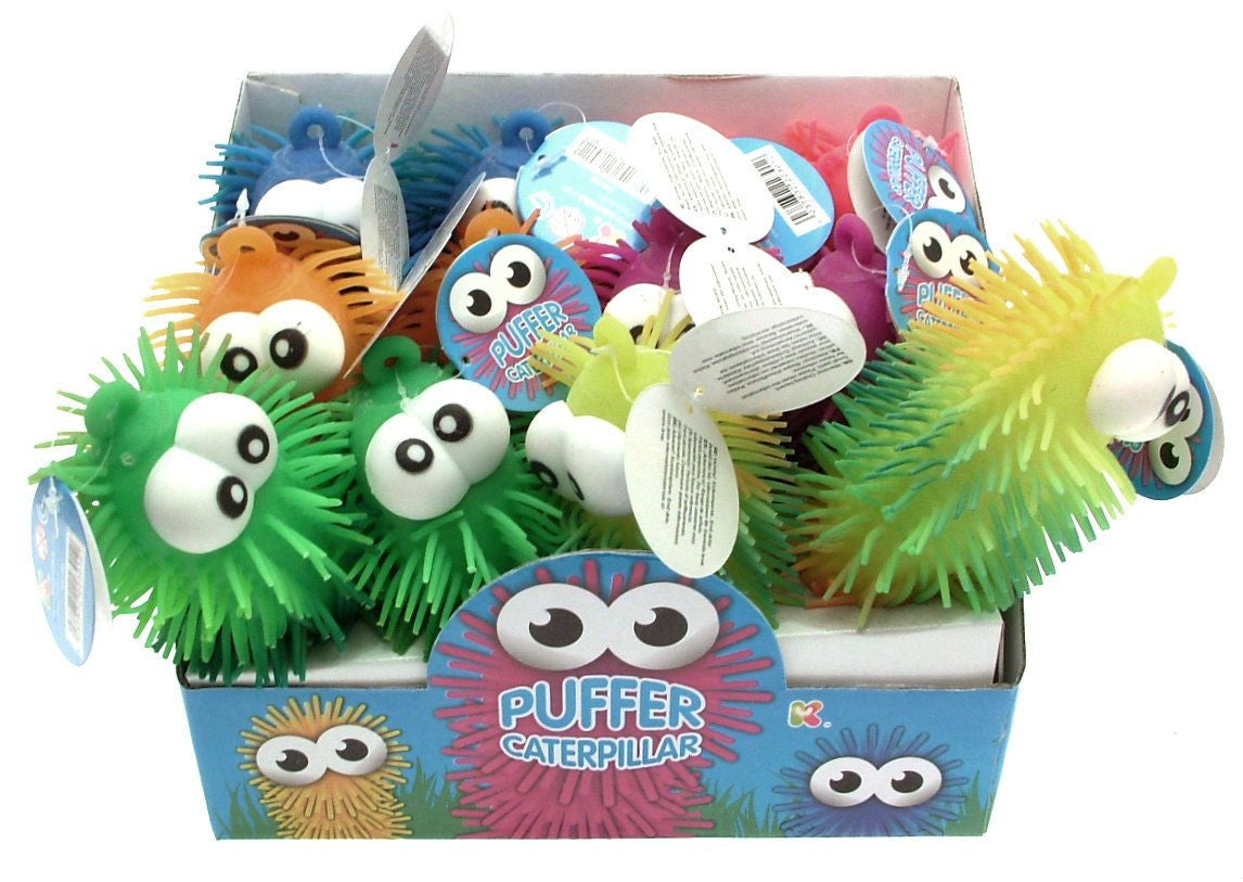 PUFFER CATERPILLAR - Pheebsters Sensory Toys - Autism Toys, Special Needs Chews & Fidget Toys - ASD ADHD TOYS UK