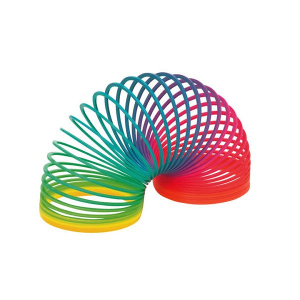 RAINBOW SLINKY SPRING - Pheebsters Sensory Toys - Autism Toys, Special Needs Chews & Fidget Toys - ASD ADHD TOYS UK