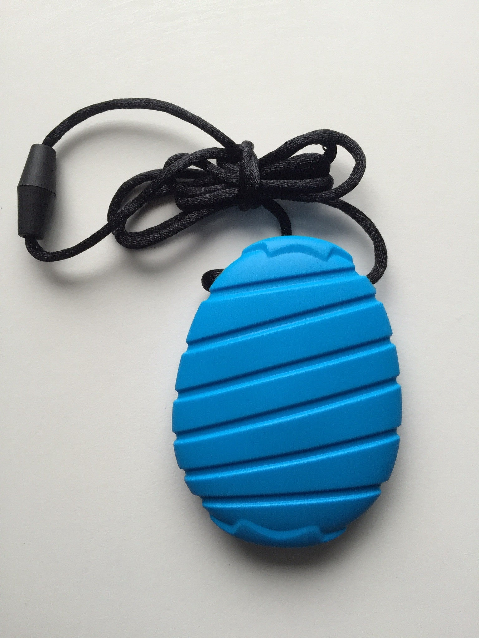 CHEW PENDANT Blue sensory autism chewing necklace ASD