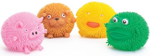 ANIMAL PUFFER BALL - Pheebsters Sensory Toys - Autism Toys, Special Needs Chews & Fidget Toys - ASD ADHD TOYS UK