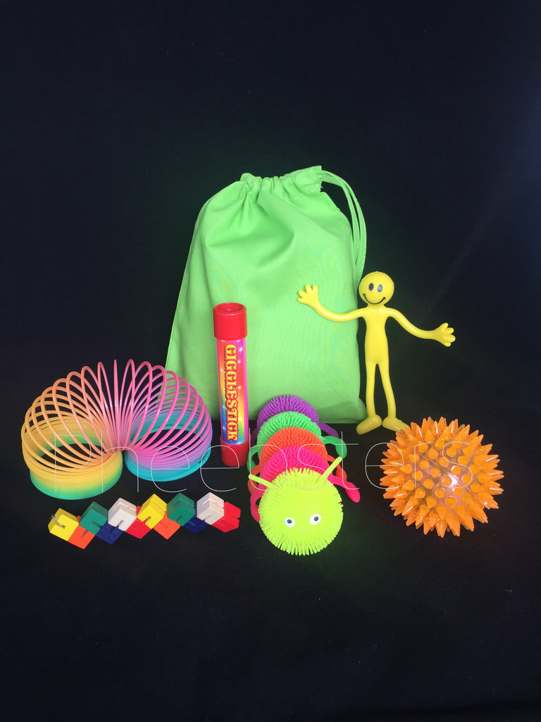 SENSORY TOY TRAVEL BAG - ( Fidget kit 3)