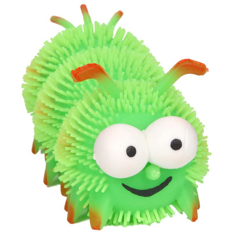 FUNKY FURRY CATERPILLAR - Pheebsters Sensory Toys - Autism Toys, Special Needs Chews & Fidget Toys - ASD ADHD TOYS UK