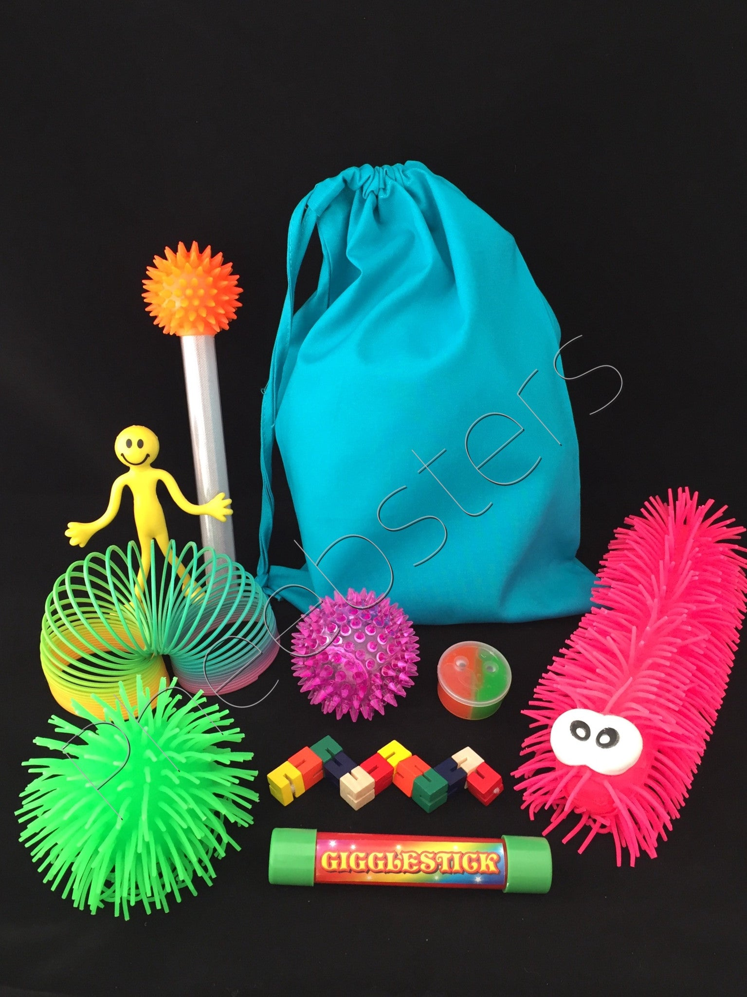 SENSORY TOY BAG Fid kit fiddle toys autism ADHD