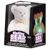 Light Up Blushing Teddy Bear - Pheebsters Sensory Toys - Autism Toys, Special Needs Chews & Fidget Toys - ASD ADHD TOYS UK