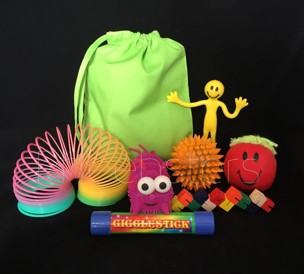 SENSORY TOY TRAVEL BAG - ( Fidget kit 4 )
