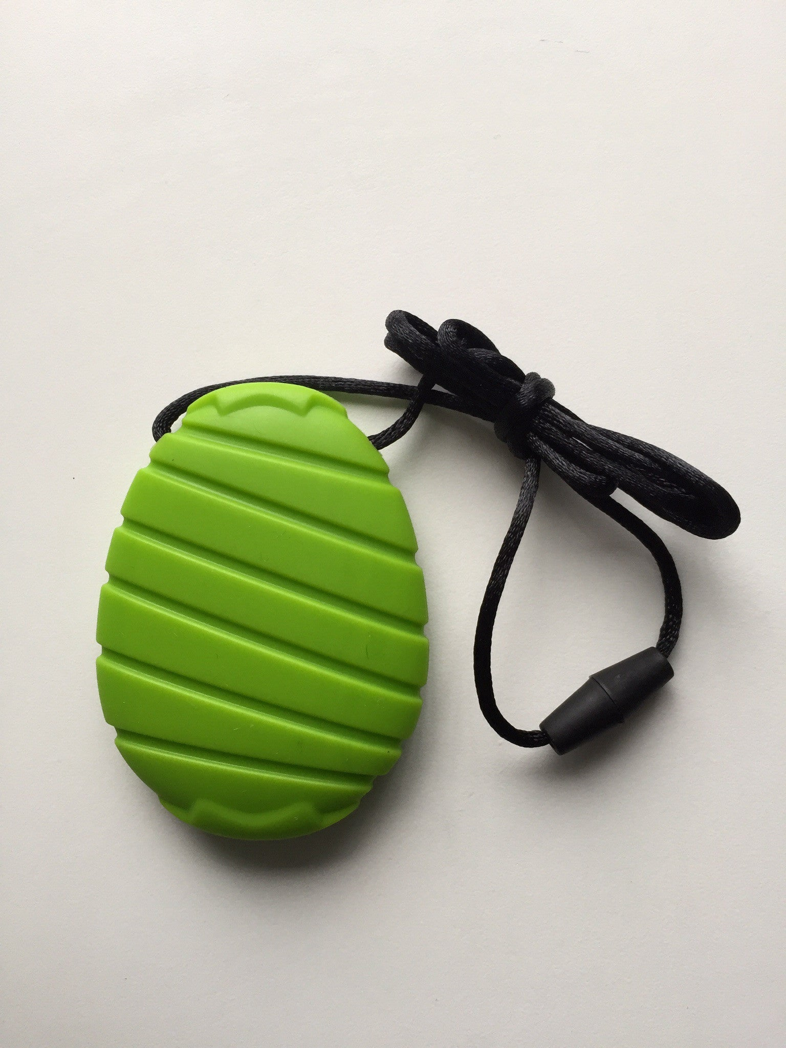 GREEN CHEW PENDANT sensory chewing autism ADHD ASD uk