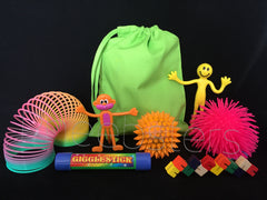 SENSORY TOY TRAVEL BAG - ( Fidget kit 1 )