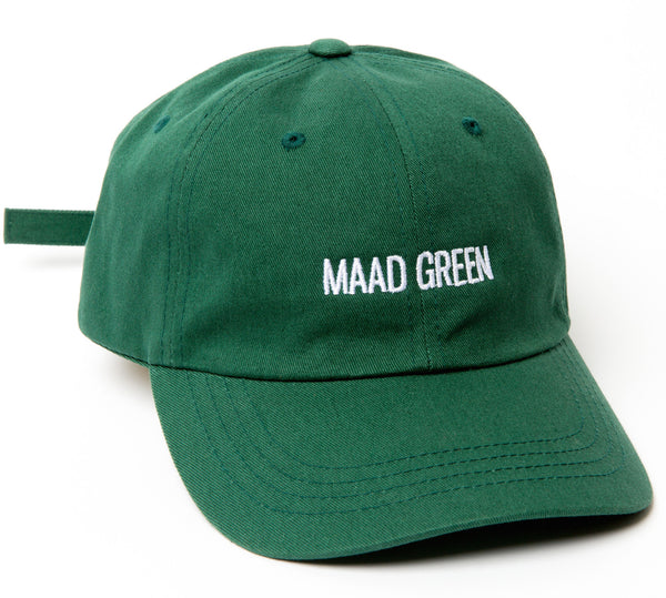MAAD GREEN DAD HAT