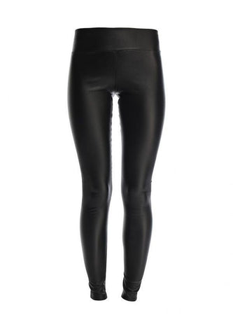 88107cb98fead ex River Island leather look black legging – Colours Online