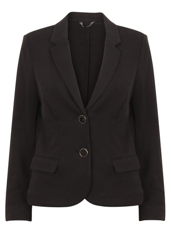 ex Minuet Fitted Black Jacket