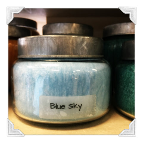 Blue Sky Jar Candle