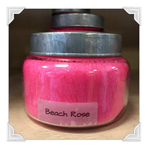 Beach Rose Jar Candle