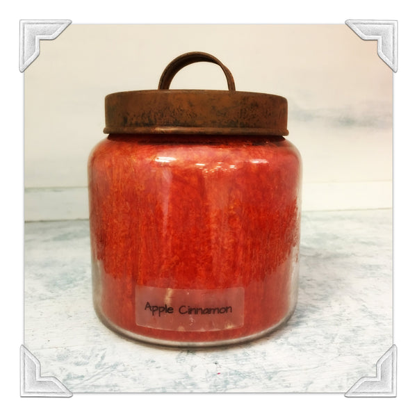 Apple Cinnamon Jar Candle
