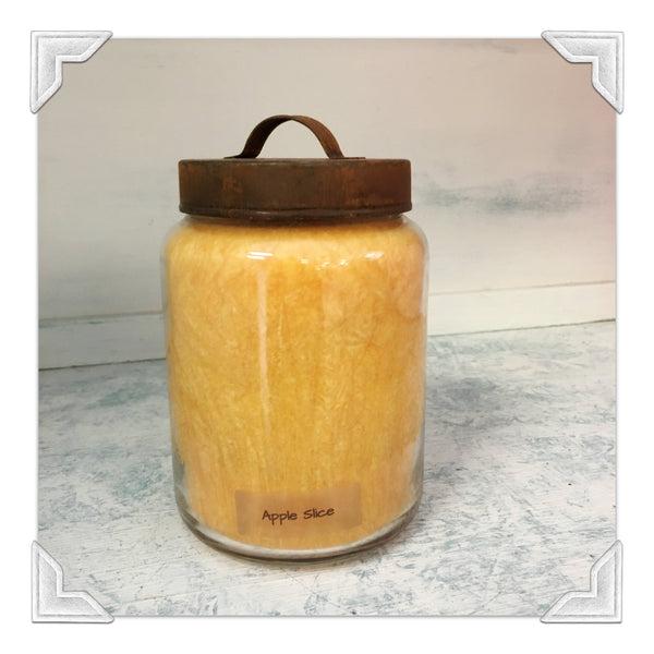 Apple Slice Jar Candle