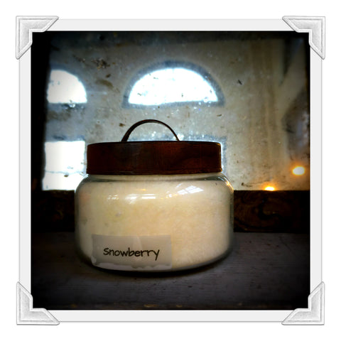 Snowberry Jar Candle