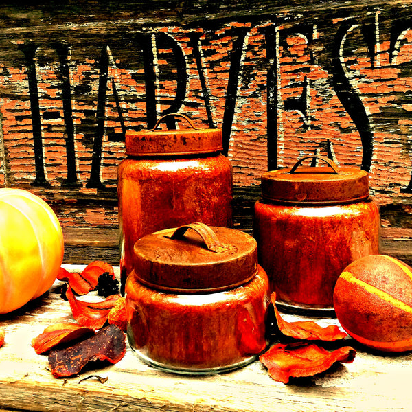 Harvest Home Pumpkin Jar Candle