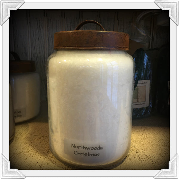 Northwoods Christmas Jar Candle