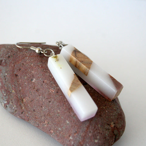 resin wood jewelry