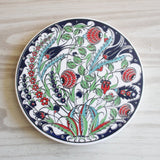 Floral Turkish Ceramic Trivet - Bohomio