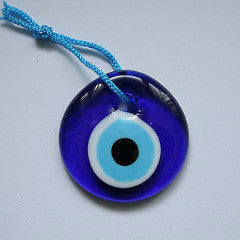 turkish evil eye pendant hanging