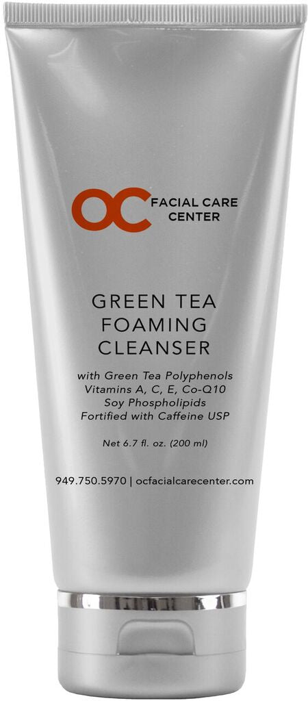 OC Facial Care Center Green Tea Foaming Cleanser