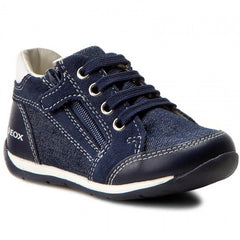 Geox Navy Boys Jr Shoes