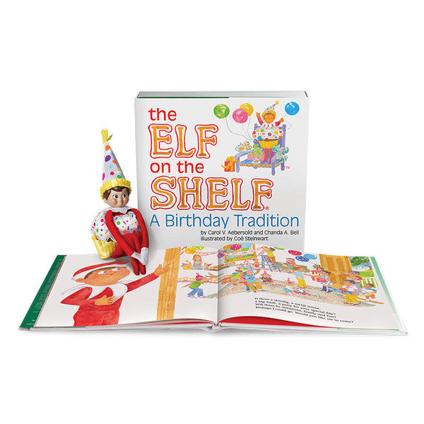 Elf On The Shelf - Birthday Set