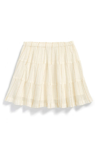 Tea Collection - Maira Metallic Crinkle Skirt