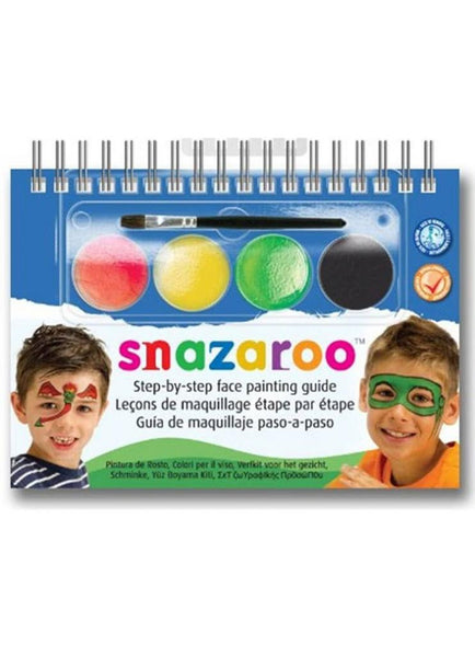 Snazaroo - 2 step face painting- Monsters/heros
