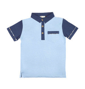 Fore!! Axel & Hudson - S/S 2-Tone w/Paisley Polo**