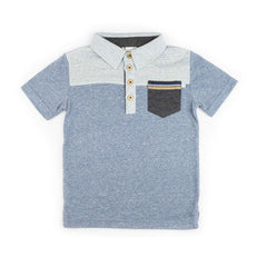 Fore!! Axel & Hudson - Short Sleeve Colorblock  Polo**